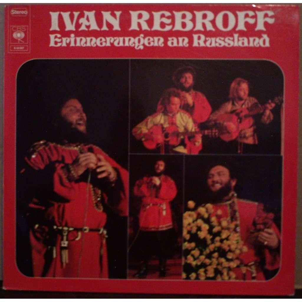IVAN REBROFF ERINNERUNGEN AN RUSSLAND