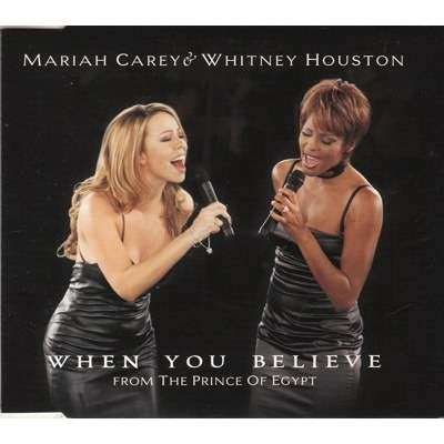 When You Believe By Mariah Carey Amp Whitney Houston Cds
