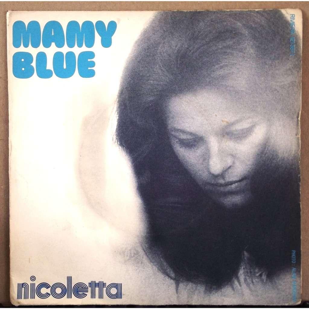 nicoletta mamy blue / visage - 115926944