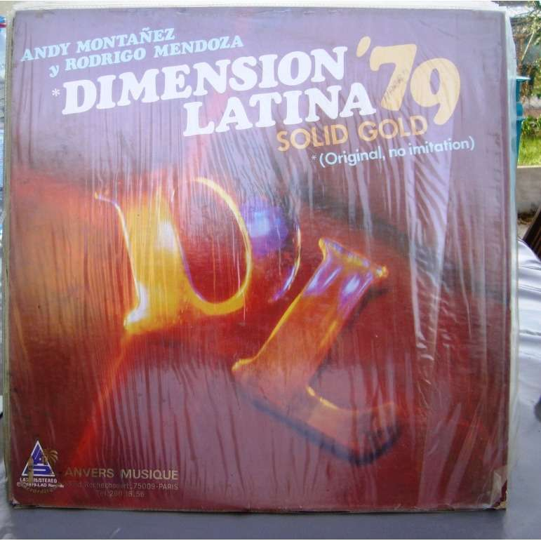 DIMENSION LATINA '79 ANDY MONTANEZ Y RODRIGO MENDOZA - SOLID GOLD ( Original no imitation )
