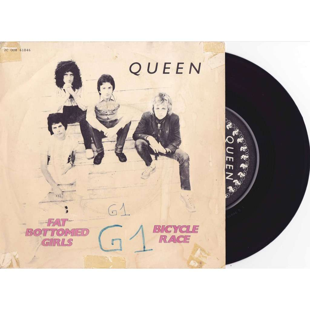 Bicycle Race Fat Bottomed Girls Por Queen, Sp Con-1040