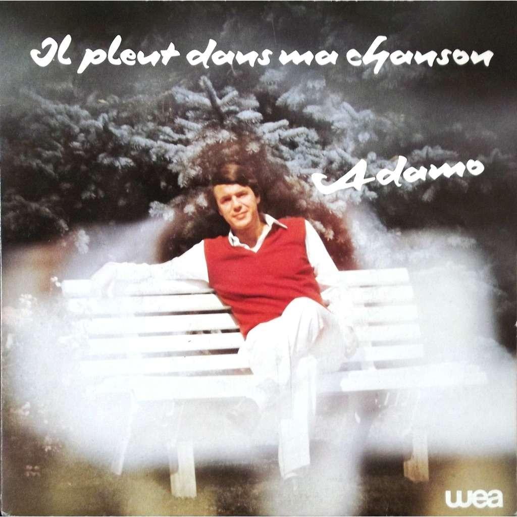 adamo il pleut dans ma chanson / des petits riens