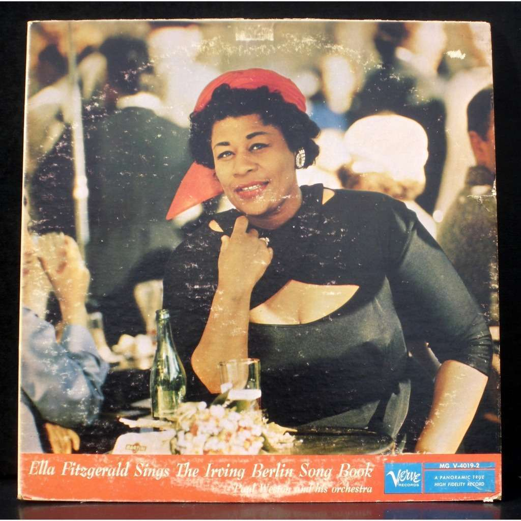 Ella Fitzgerald Sings The Irving Berlin Song Book By Ella