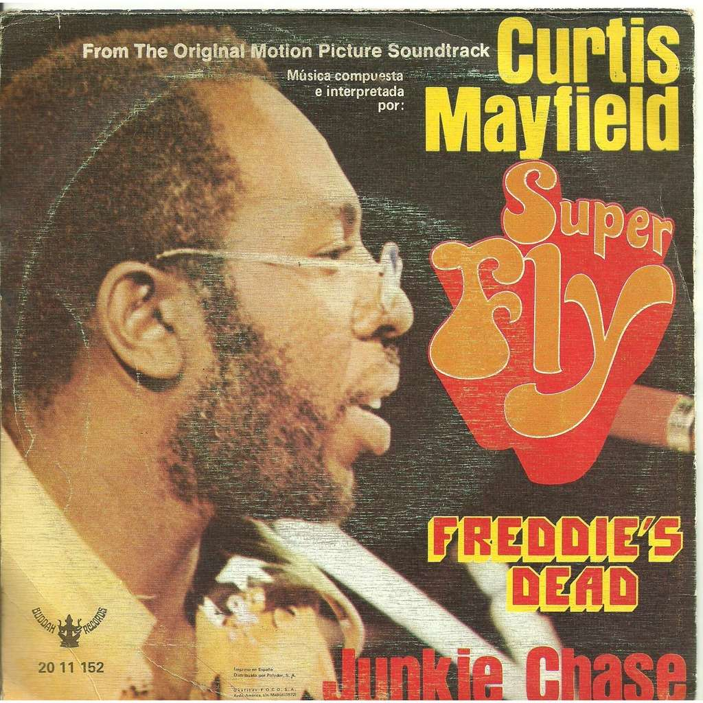 Freddie´s dead superfly ost by Curtis Mayfield, SP with madeinspain -  Ref:115935731