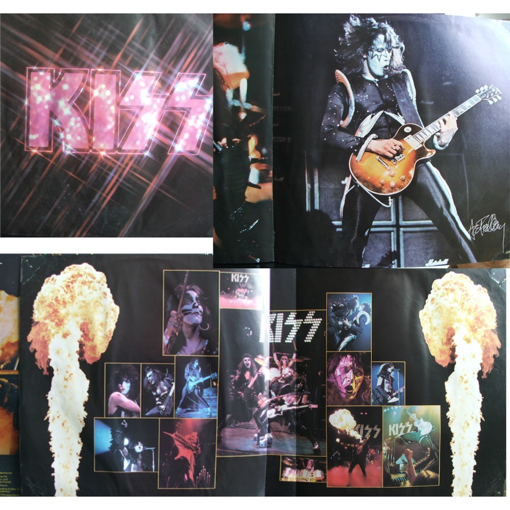 Alive Ii By Kiss Double Lp Gatefold With Soulvintage59