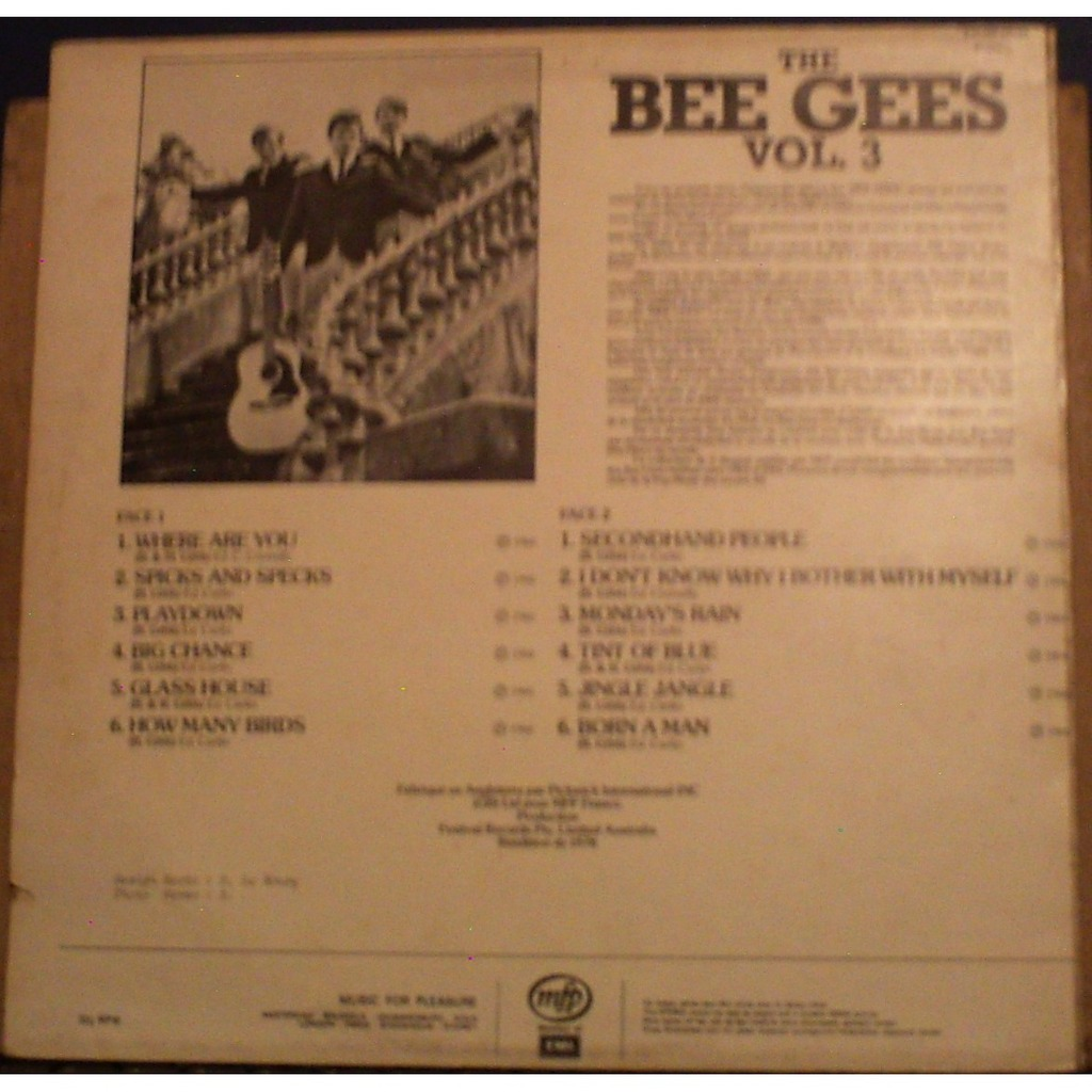 THE BEE GEES VOL 3 1966