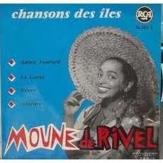 MOUNE DE RIVEL chansons des iles : adieu foulard + 3  ( orchestre  pierre louïss )