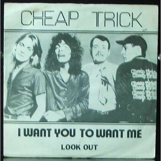 i want you to want me clock strikes ten by cheap trick sp with soulvintage59 ref 115940113. Black Bedroom Furniture Sets. Home Design Ideas