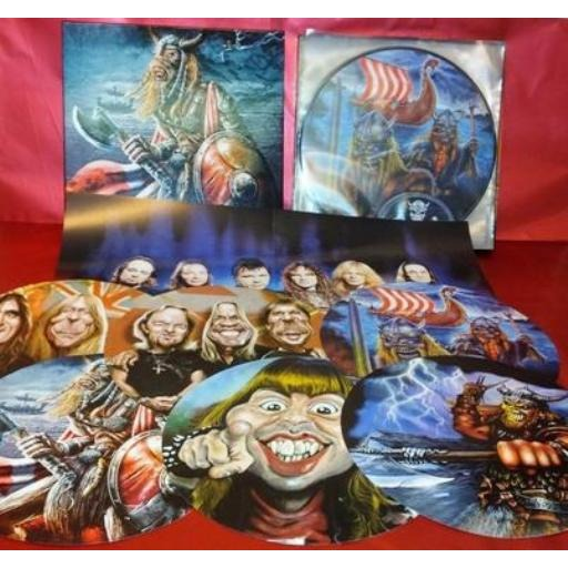 Iron maiden (Limited édition)(BOX)(3LP picture disc vinyl)(Numbered 300 copies)(US).