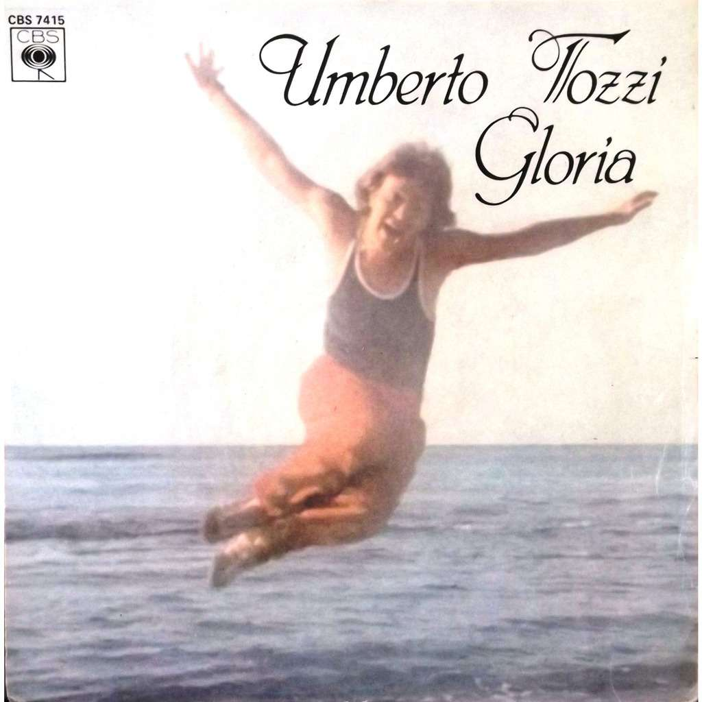 Gloria Aria Di Lei By Umberto Tozzi Sp With Vinyl59