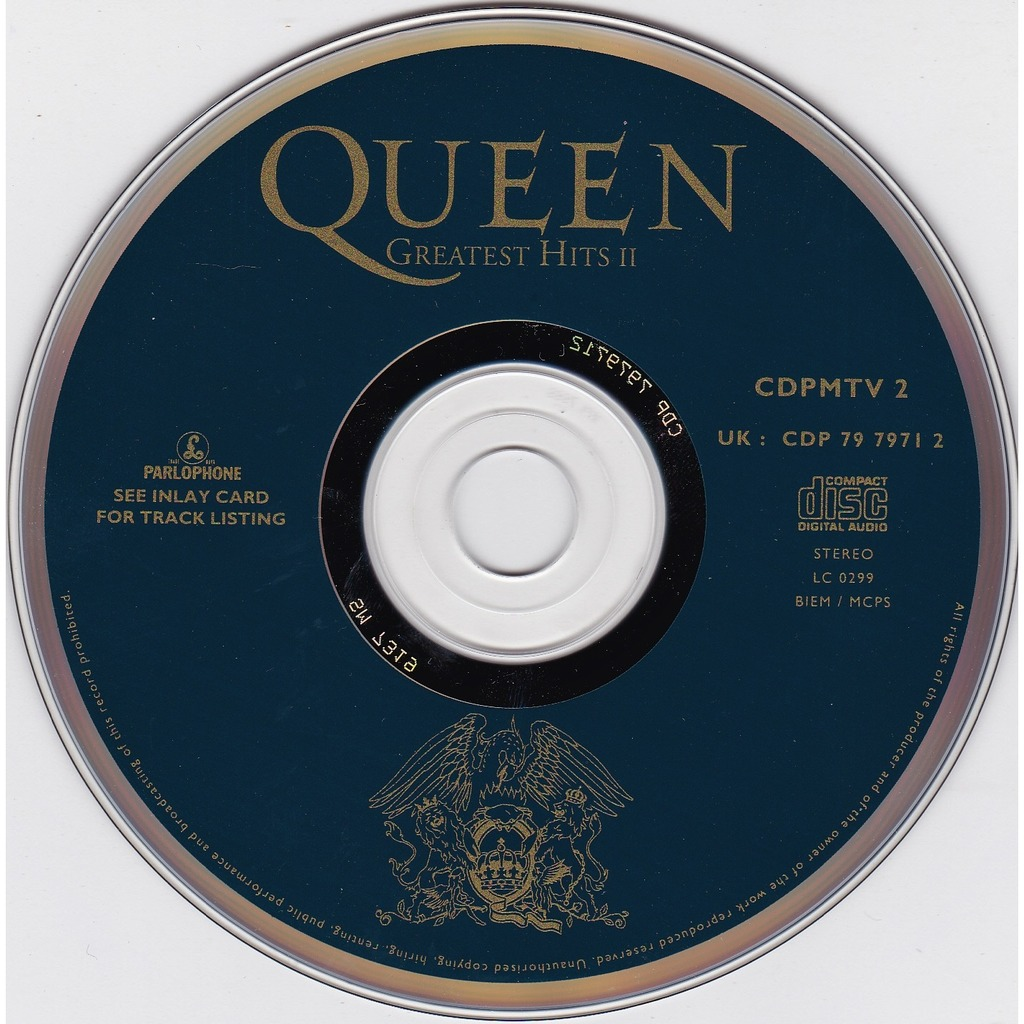 Greatest Hits Ii Long Play Cd By Queen Cd With