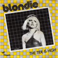 BLONDIE - Tide is high/Susie and Jeffrey - 45T (SP 2 titres)