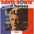 DAVID BOWIE - Heroes(in french)/V2 schneider - 45T (SP 2 titres)