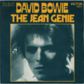 DAVID BOWIE - Jean genie/Hang to yourself - 45T (SP 2 titres)