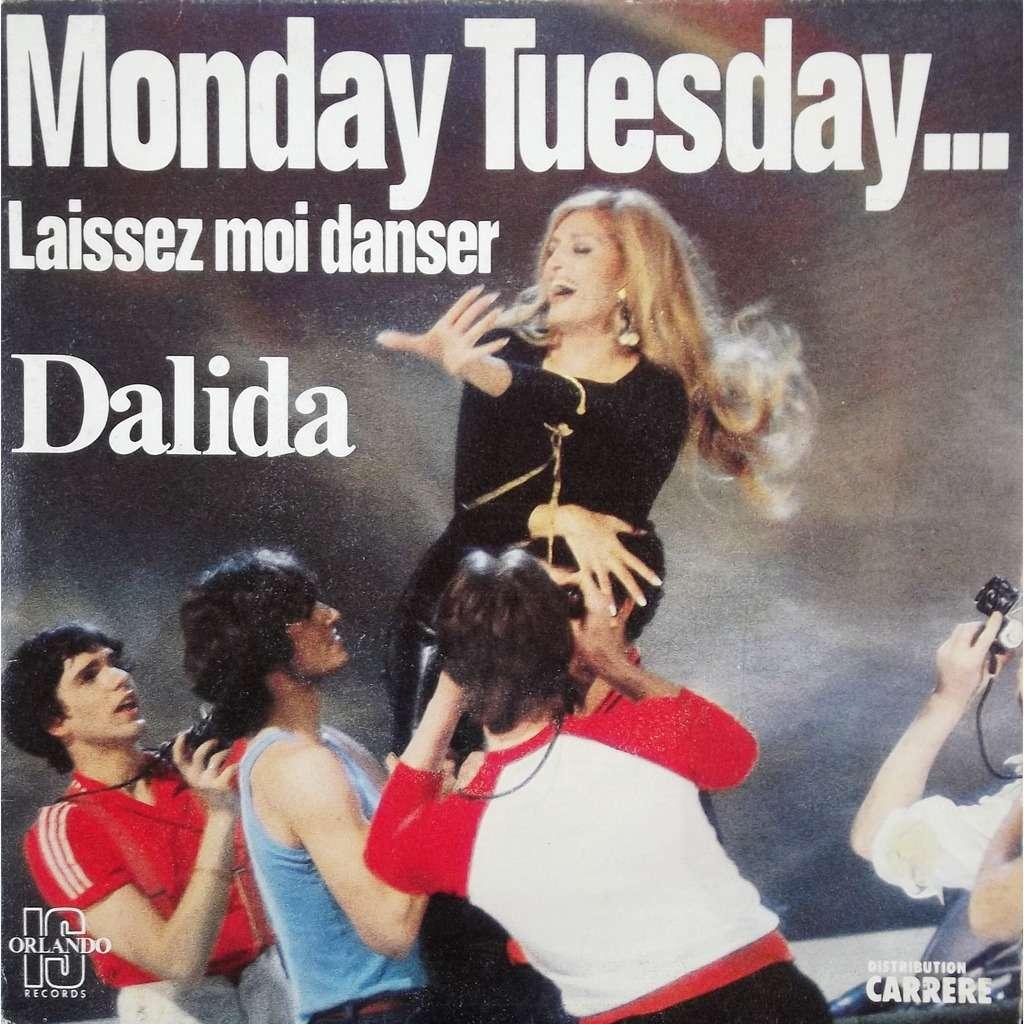 dalida monday tuesday...laissez moi danser / comme toi
