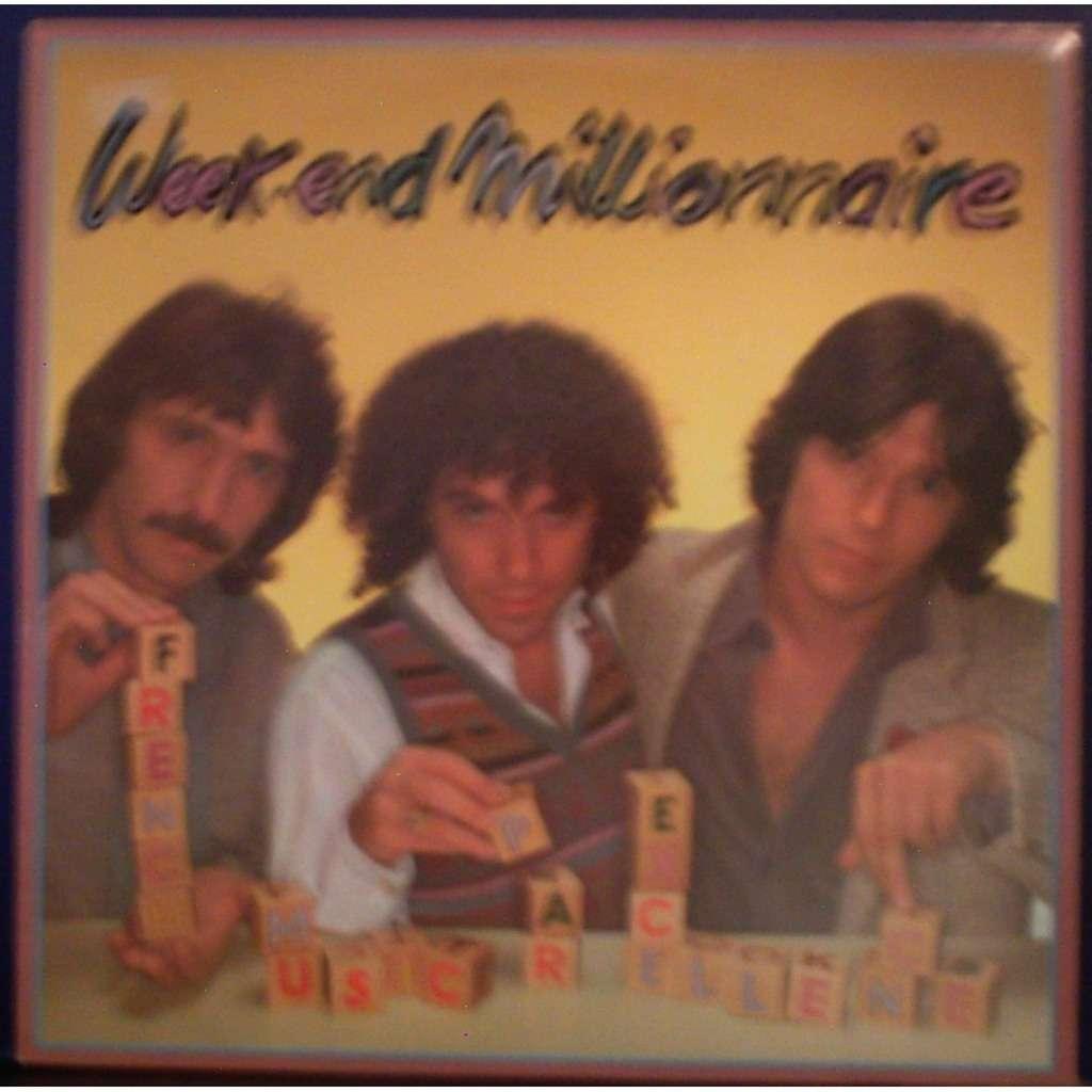 week end millionnaire french music par excellence