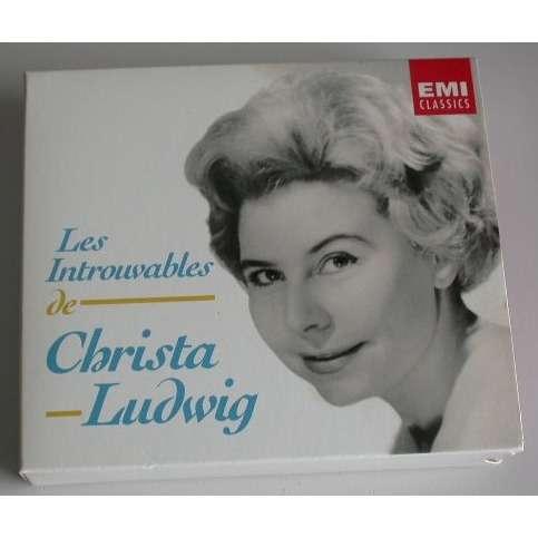 Christa Ludwig Les Introuvables De Christa Ludwig