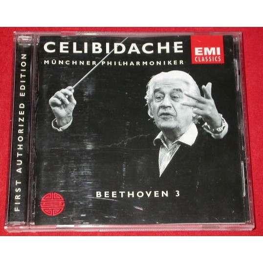 CELIBIDACHE / Münchner Philharmoniker - Beethoven CELIBIDACHE / Münchner Philharmoniker - Beethoven Symphonie n ° 3