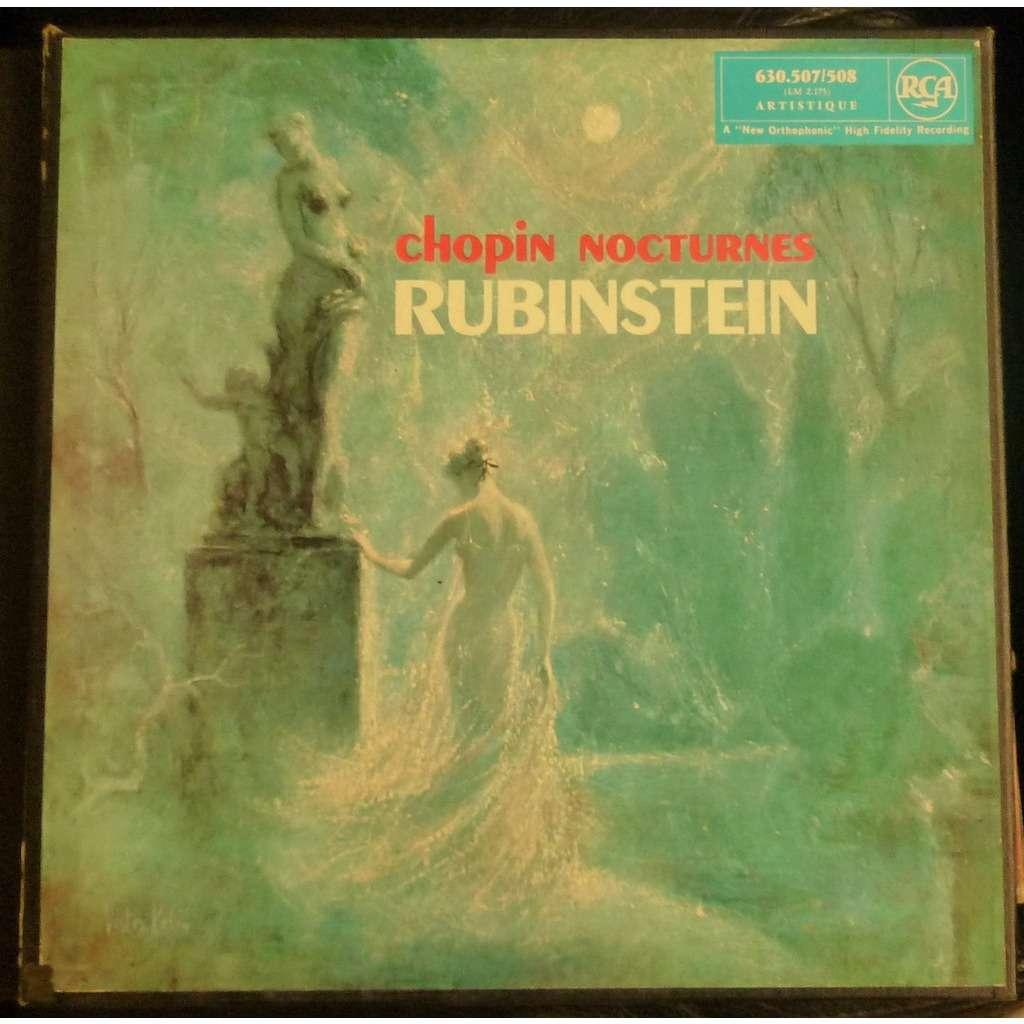 Arthur Rubinstein Chopin The Nocturnes Double Lp