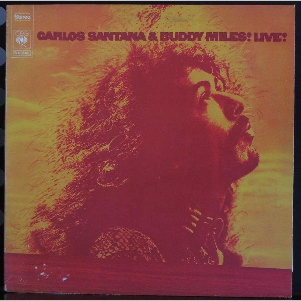 SANTANA MILES carlos santana & buddy miles live!