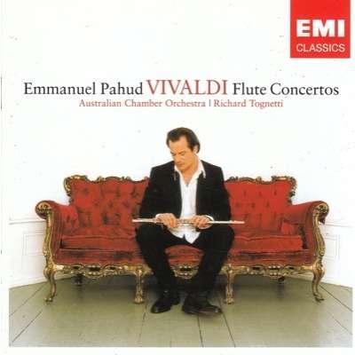 EMMANUEL PAHUD VIVALDI: FLUTE CONCERTOS