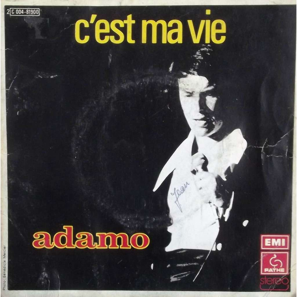 C Est Ma Vie Pour 233 Crire Je T Aime By Adamo Sp With