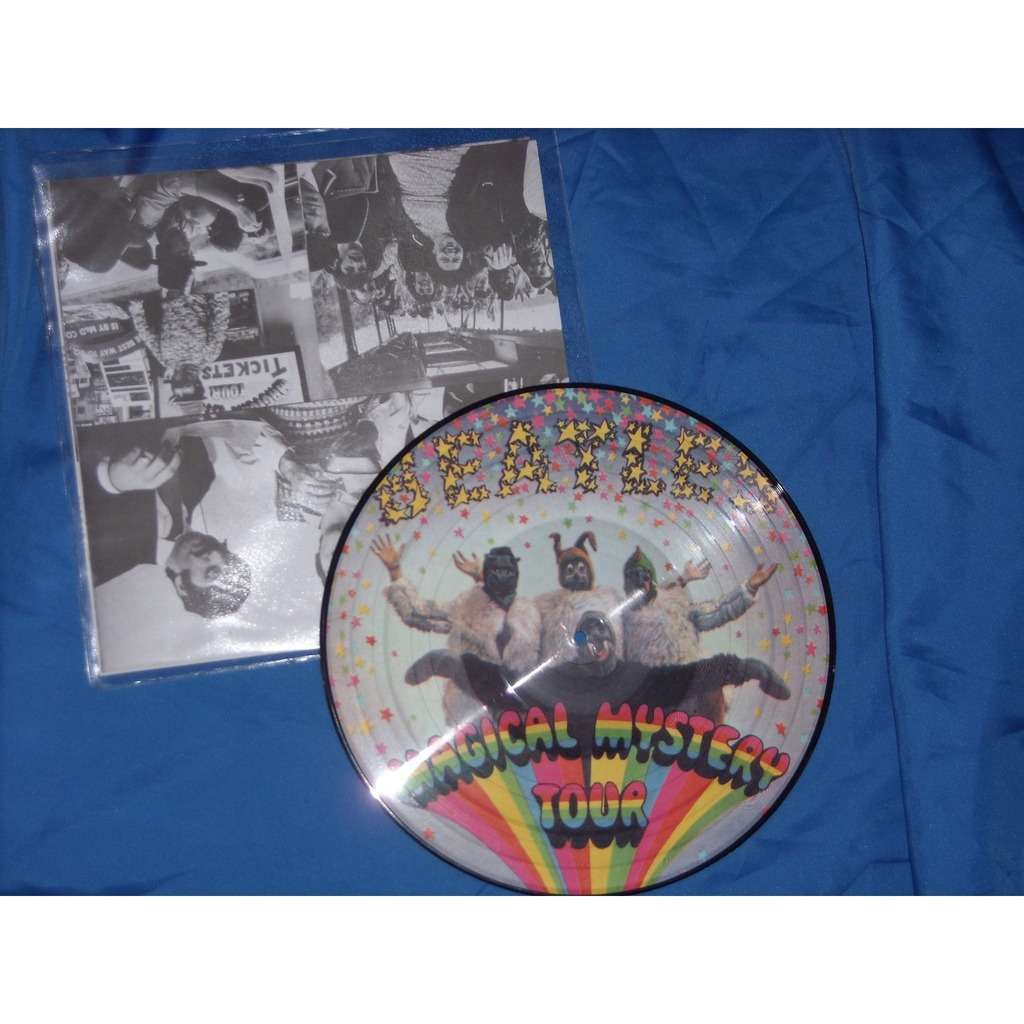 Magical Mystery Tour By The Beatles Picture Disc Lp