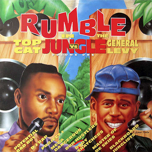 Top Cat vs General Levy Rumble In Jungle Volume One
