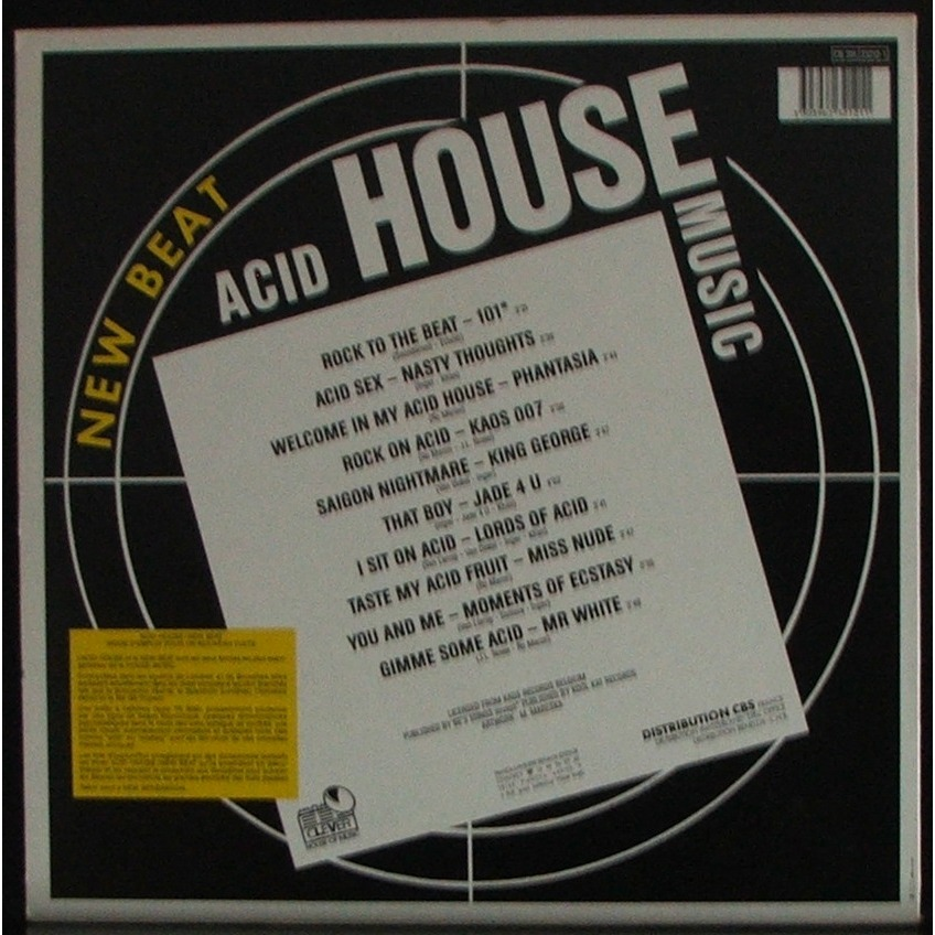 New beat acid house music lp soulvintage59 for What is acid house music
