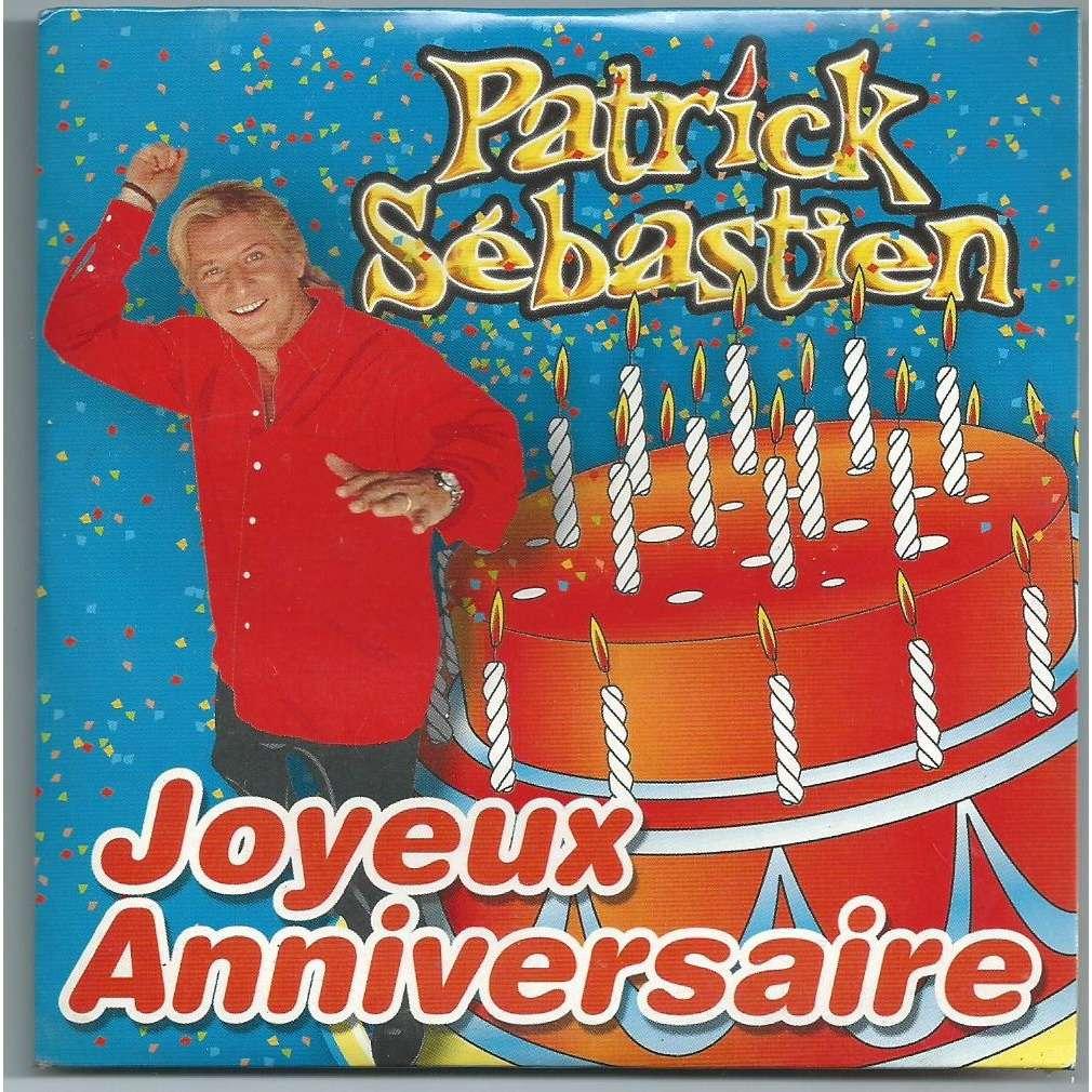 bon anniversaire patrick sebastien
