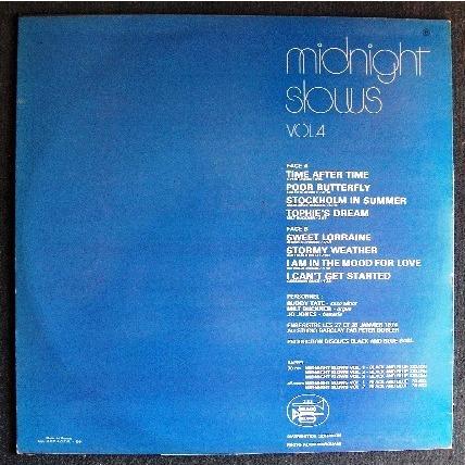 Midnight Slows Vol 4 By Milt Buckner Buddy Tate Jo