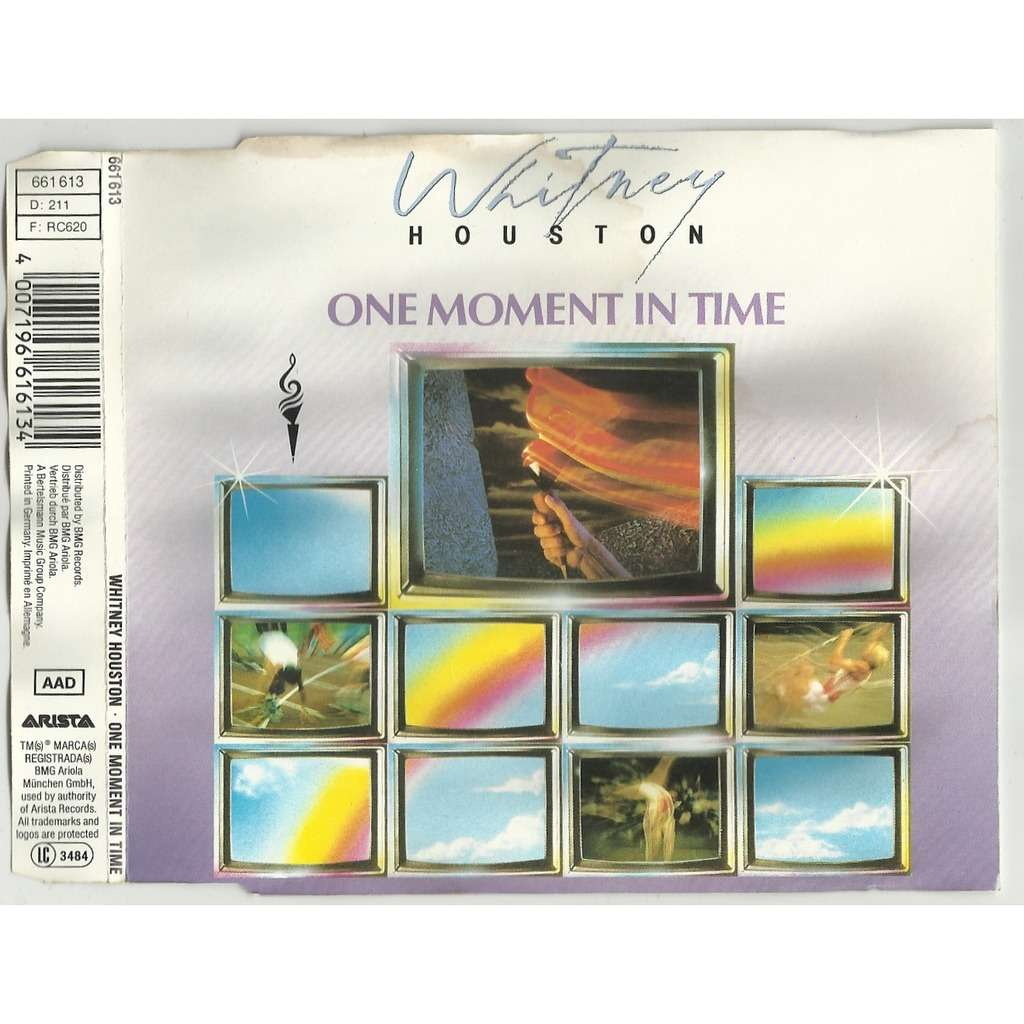 One Moment In Time By Whitney Houston Cds With