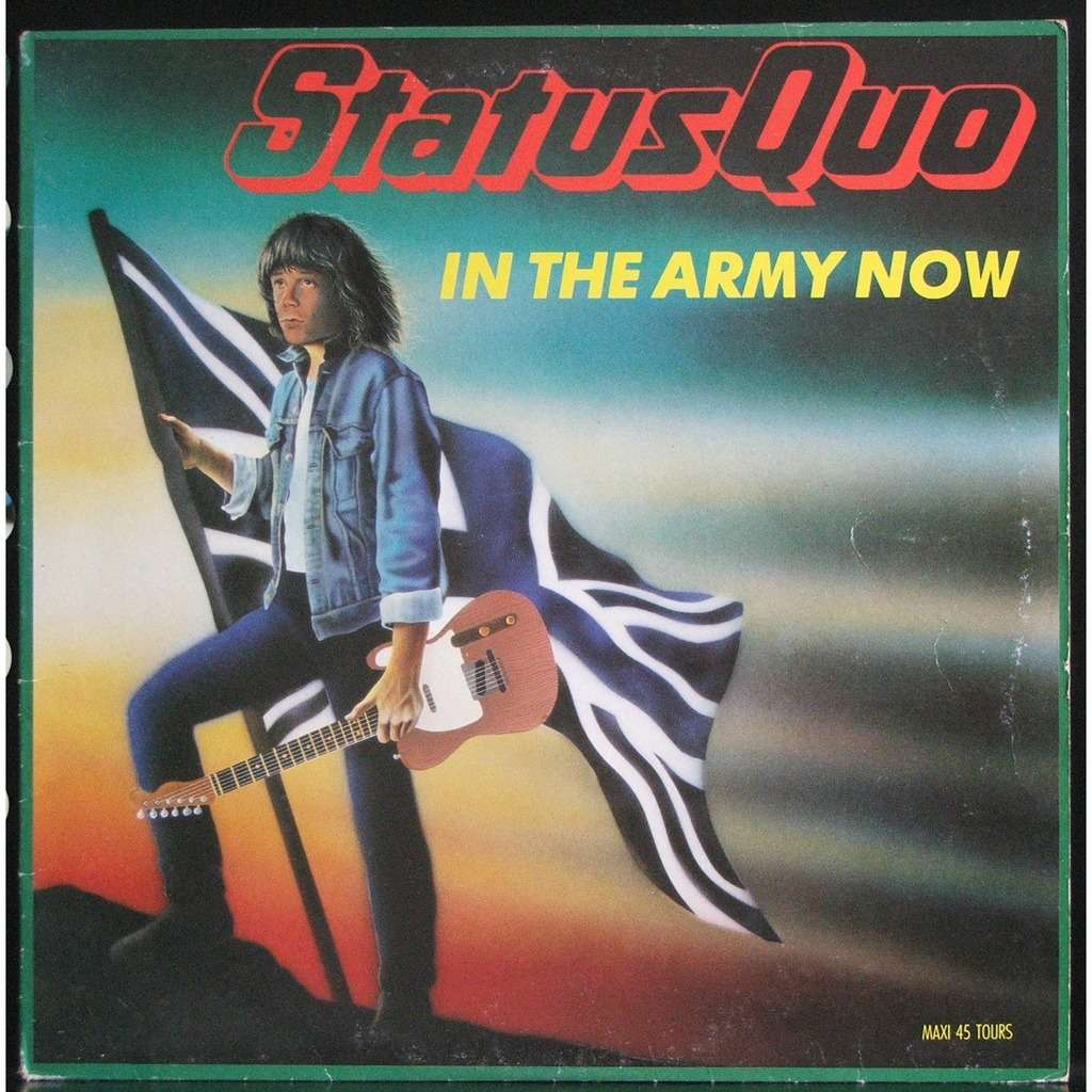 in the army now by status quo 12inch with soulvintage59 ref 115967733. Black Bedroom Furniture Sets. Home Design Ideas