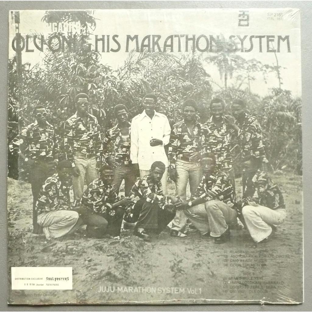Olu Oni and His Marathon System Chief Brigadier Olu Oni and His Marathon System Juju Marathon System Vol. 1