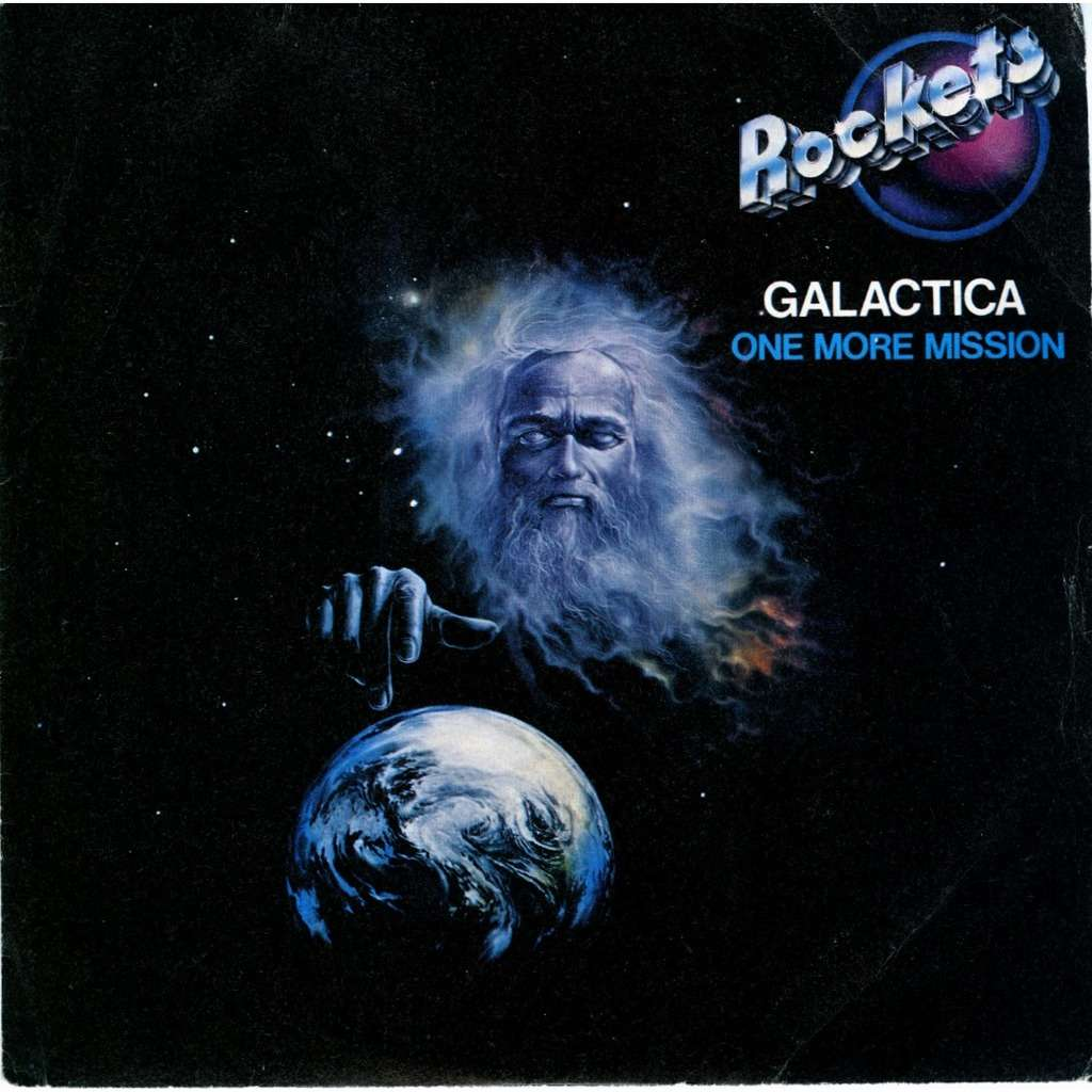 Galactica One More Mision By Rockets 7inch Sp X 2 With