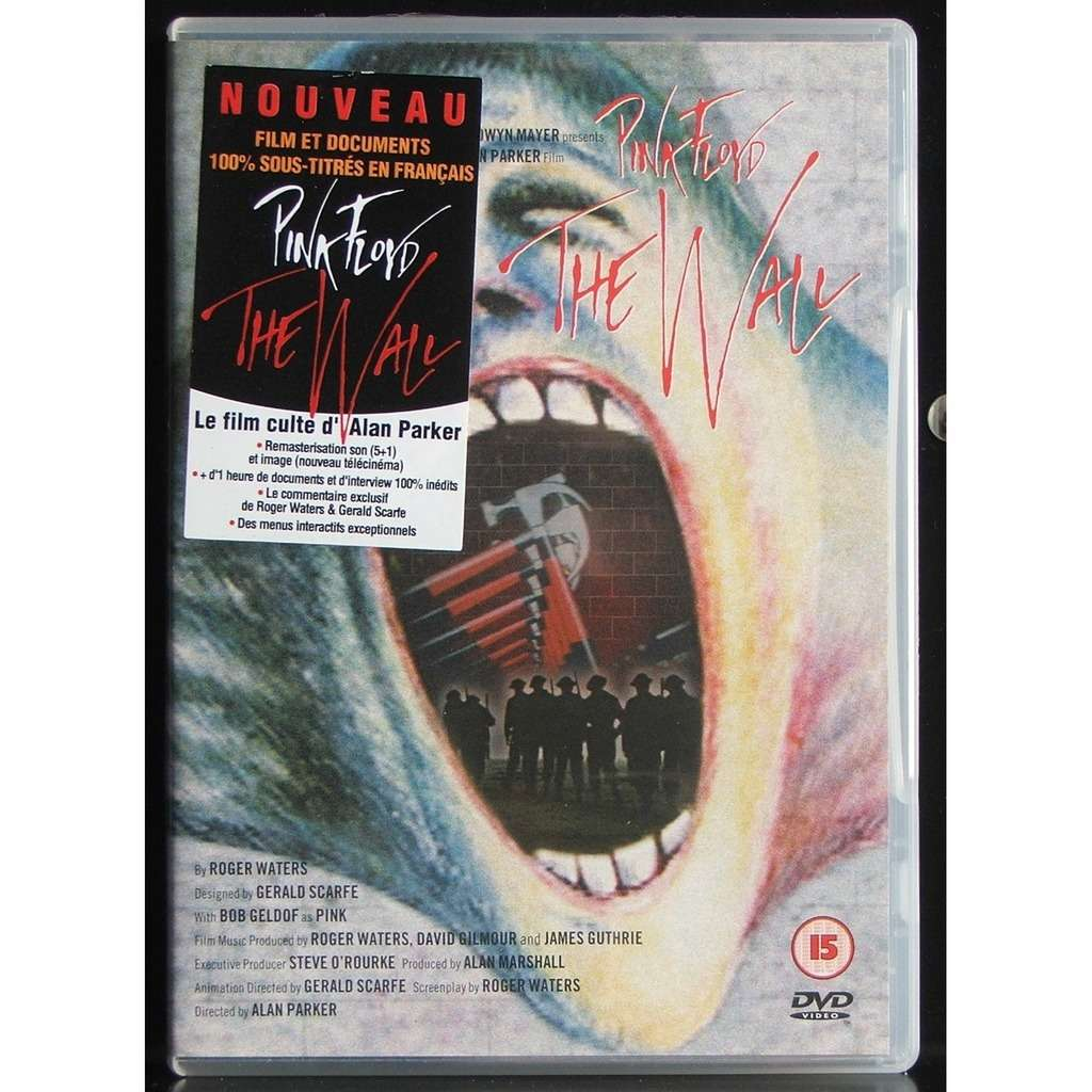 The wall by Pink Floyd, DVD with soulvintage59 - Ref:115973853