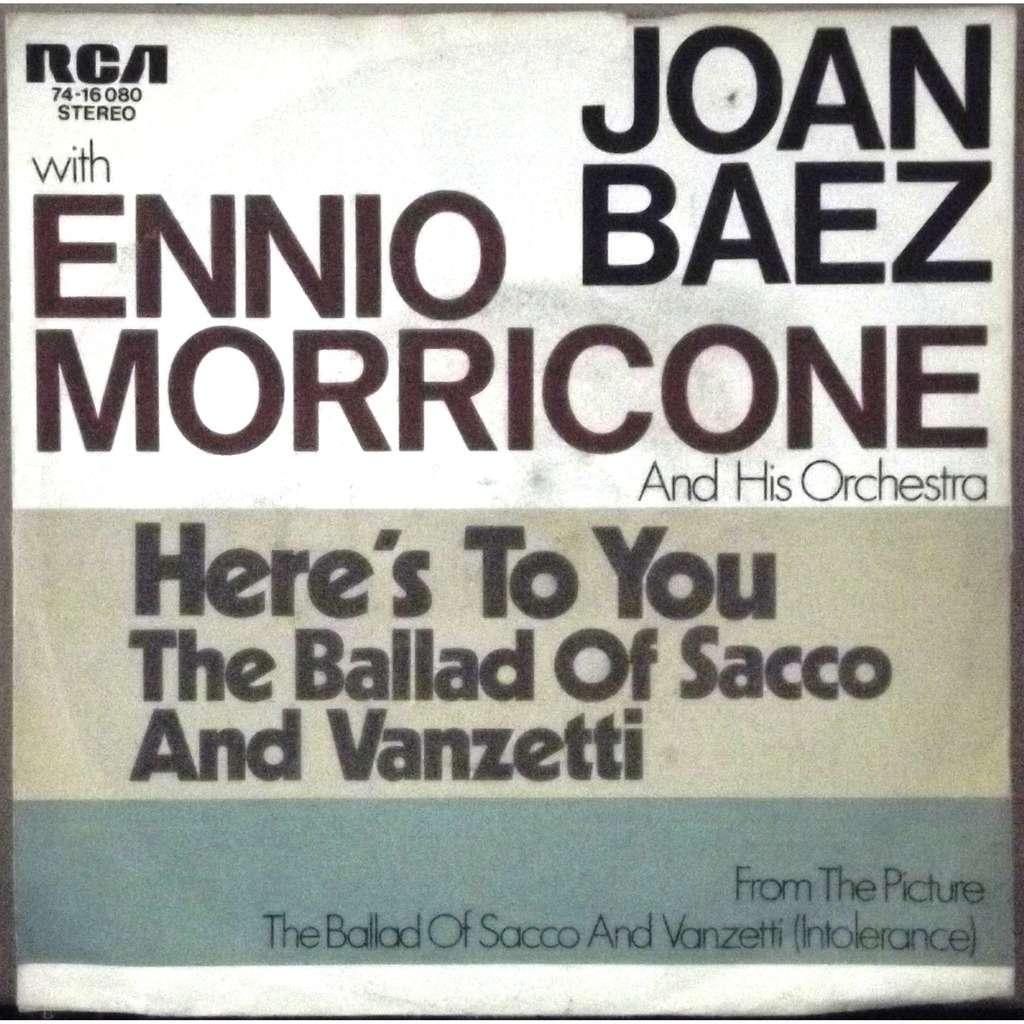 Ennio Morricone Sacco Vanzetti Original Soundtrack Recording