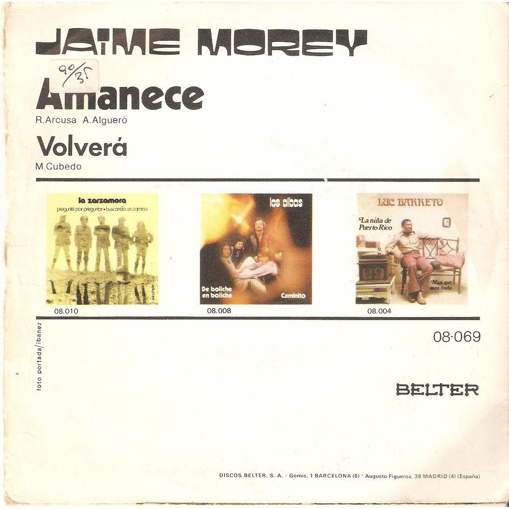 Jaime Morey Amanece
