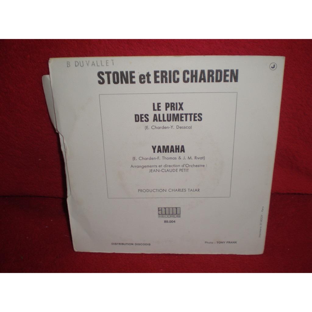 stone et charden le prix des allumettes, yamaha