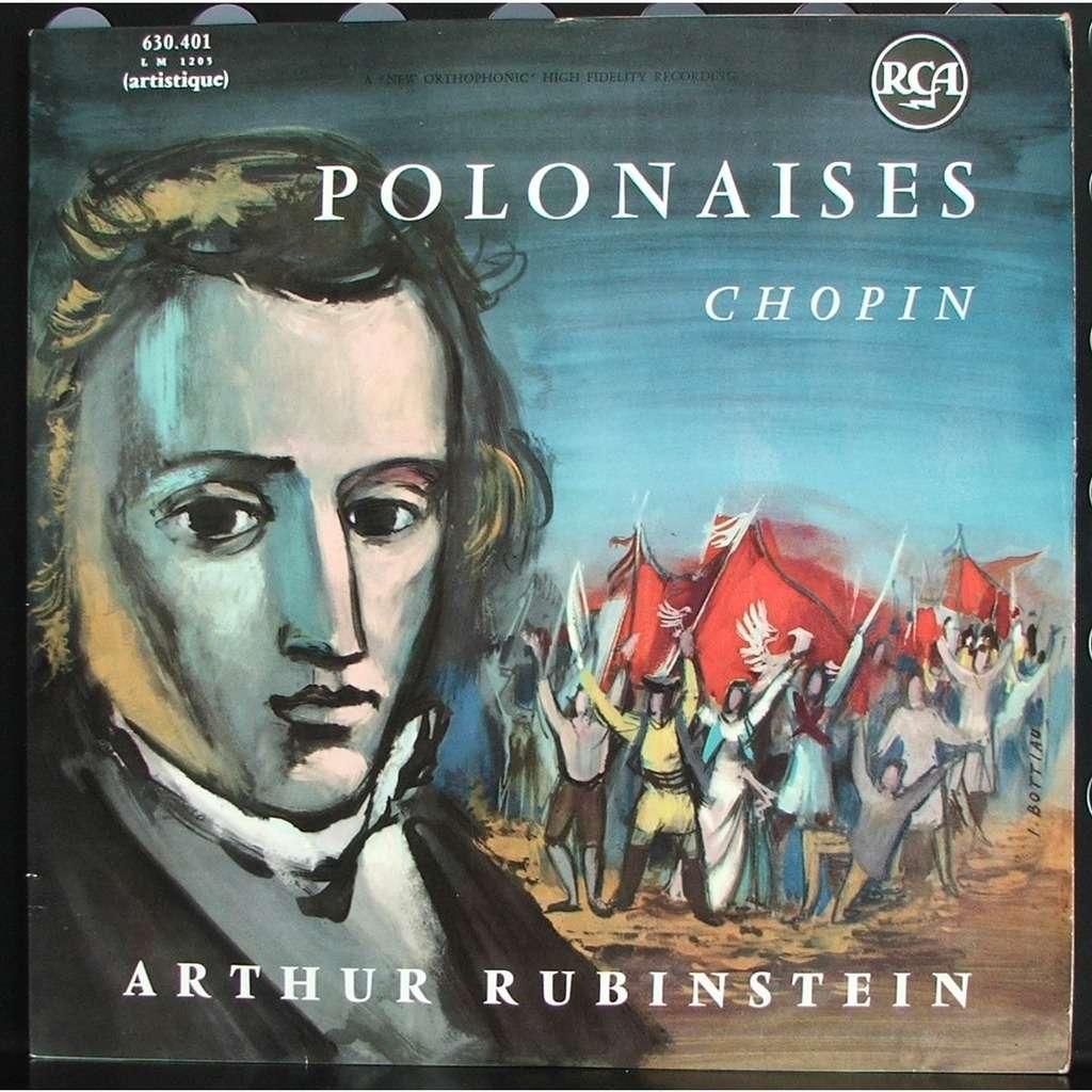 arthur rubinstein chopin polonaises