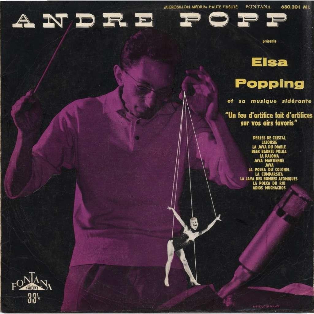 ANDRE POPP, PIERRE FATOSME, BORIS VIAN André Popp présente ELSA POPPING et sa musique sidérante + CD-R