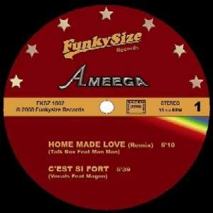 Ameega Home Made Love / C'est Si Fort / Funkysize Now Baby / Heavenly