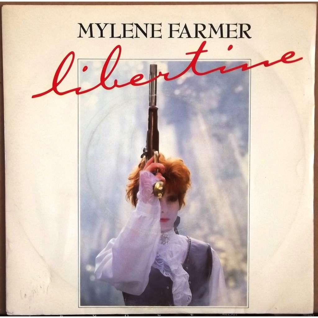 mylene farmer libertine / greta (impr. Polygram - Boutonnat)