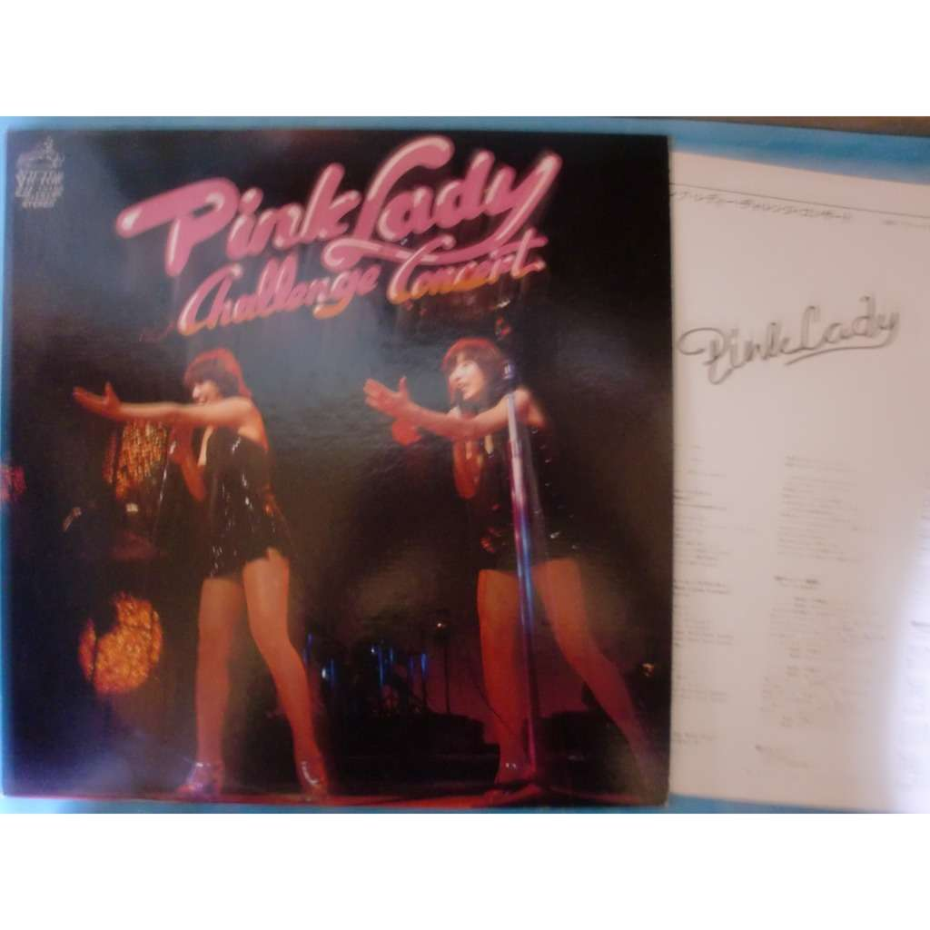 pink lady challenge concert