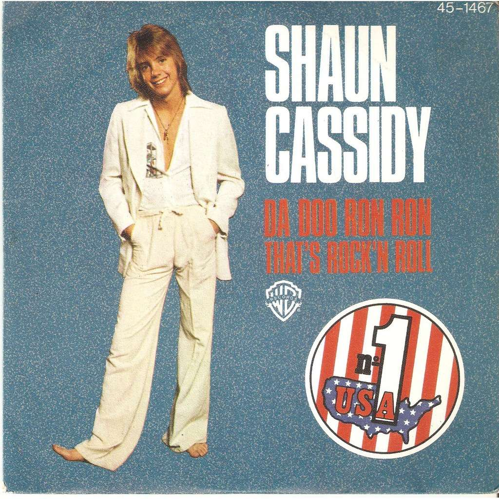 Da Doo Ron Ron By Shaun Cassidy Sp With Javalo Ref