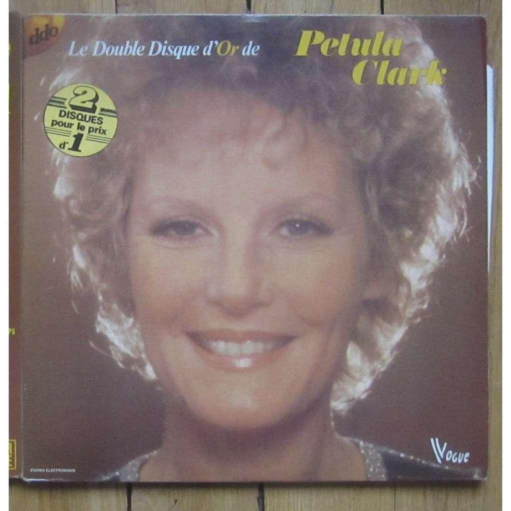 Petula Clark le double disque d'or de Petula Clark
