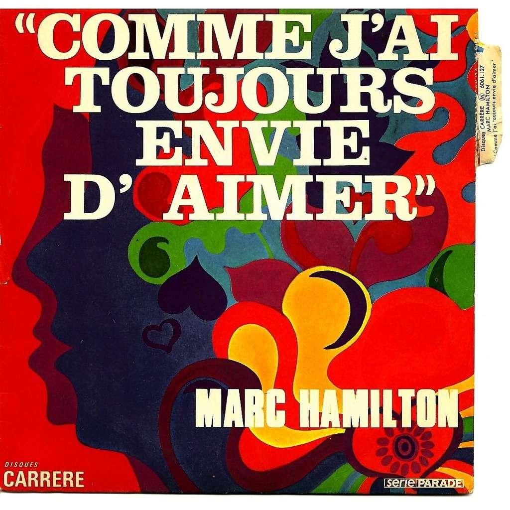 Comme j'ai toujours envie d'aimer / tapis magique de Marc Hamilton, SP chez  blakcat - Ref:116003975