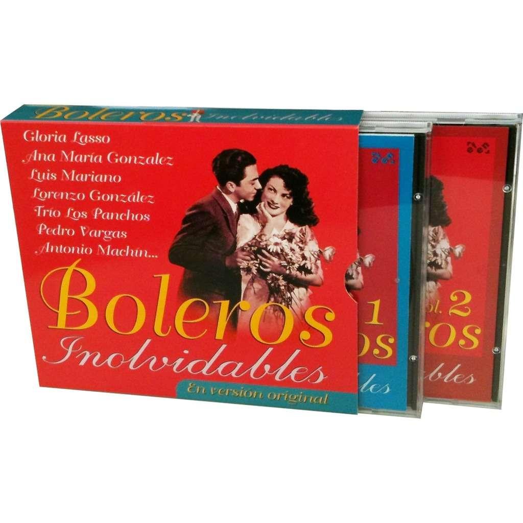Gloria Lasso, Ana María Gonzalez, Luis Mariano... Boleros Inolvidables Vol. 1 y 2