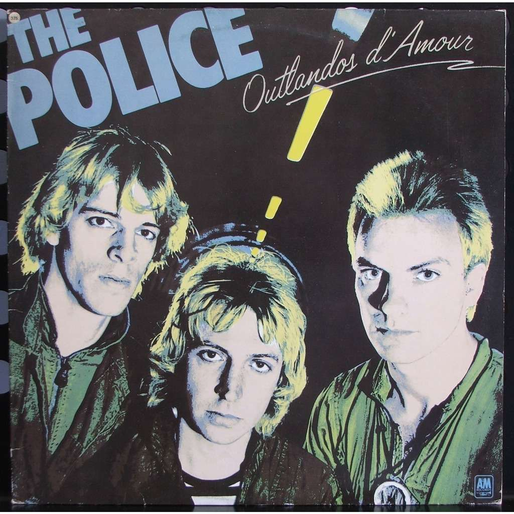 Outlandos D Amour By The Police Lp With Soulvintage59