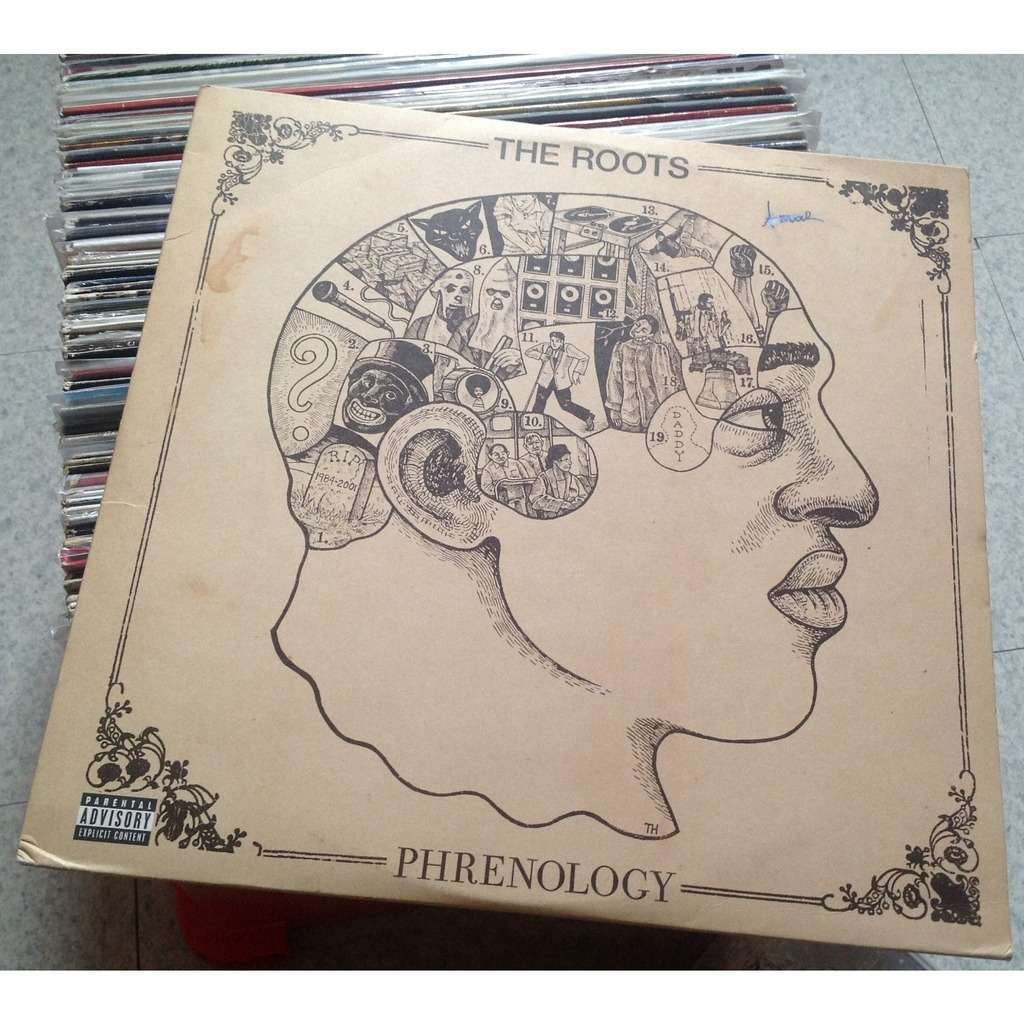 Phrenology By The Roots Lp X 2 With Backadisc